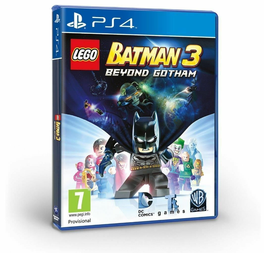 how to play lego batman 3 ps4