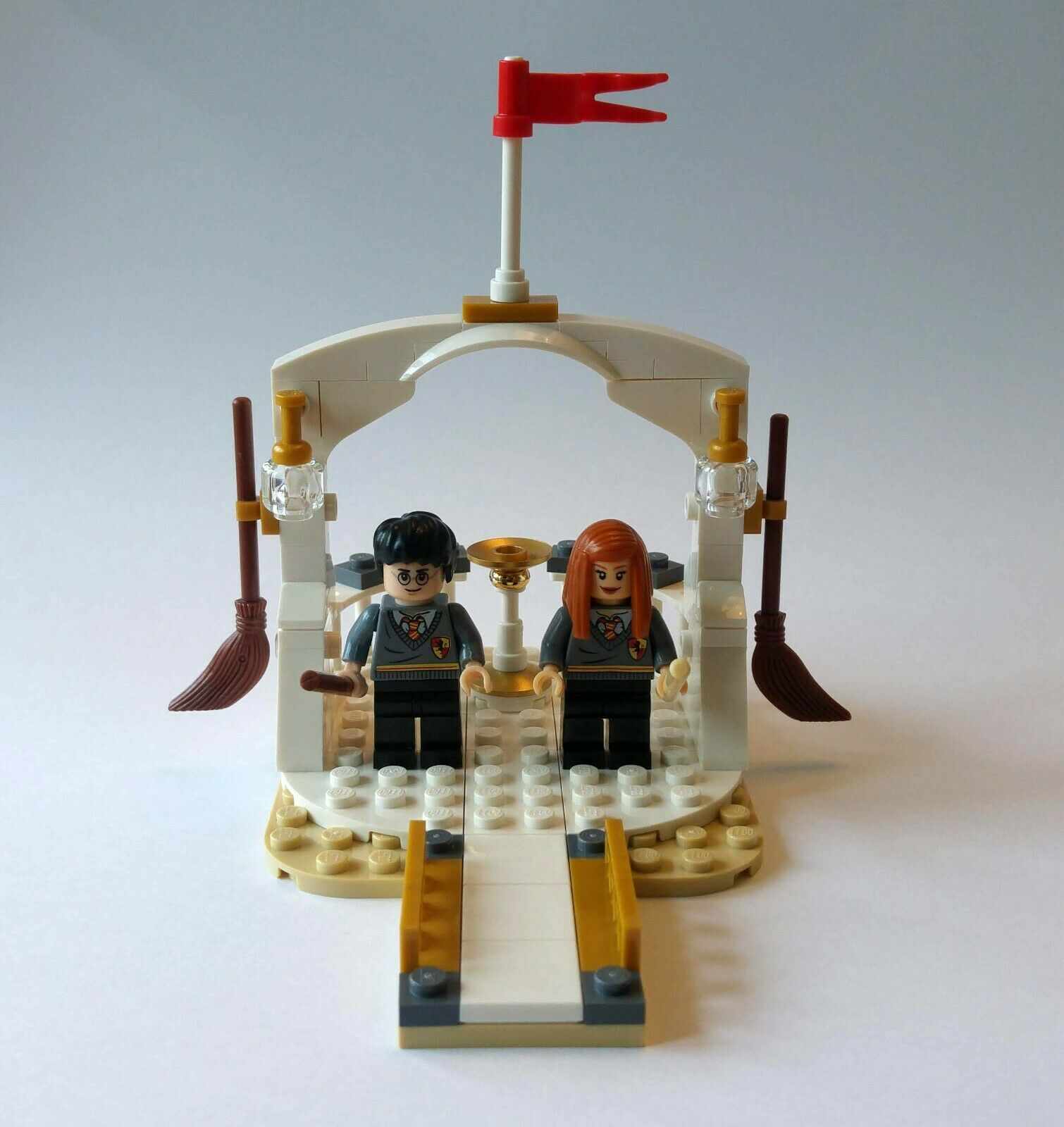 Unique Harry Potter Harry And Ginny Lego Wedding Cake Topper