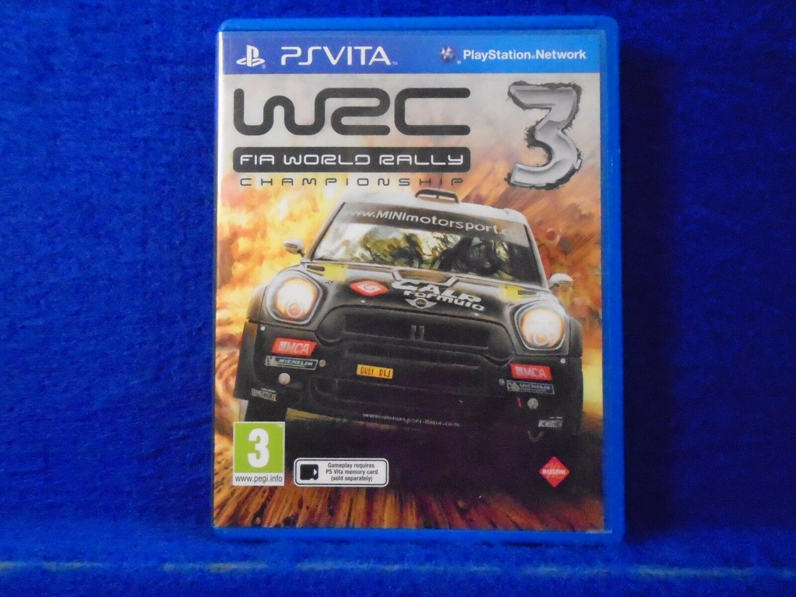 Ps Vita Wrc 3 Fia World Rally Championship Game Region Free Pal Sony Ps4 6 English 1 Of 1only Available