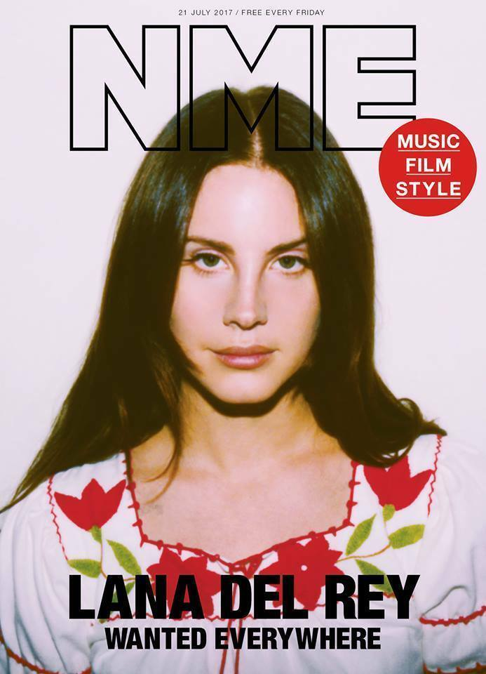 nme magazine july 2017 lana del rey photo cover and