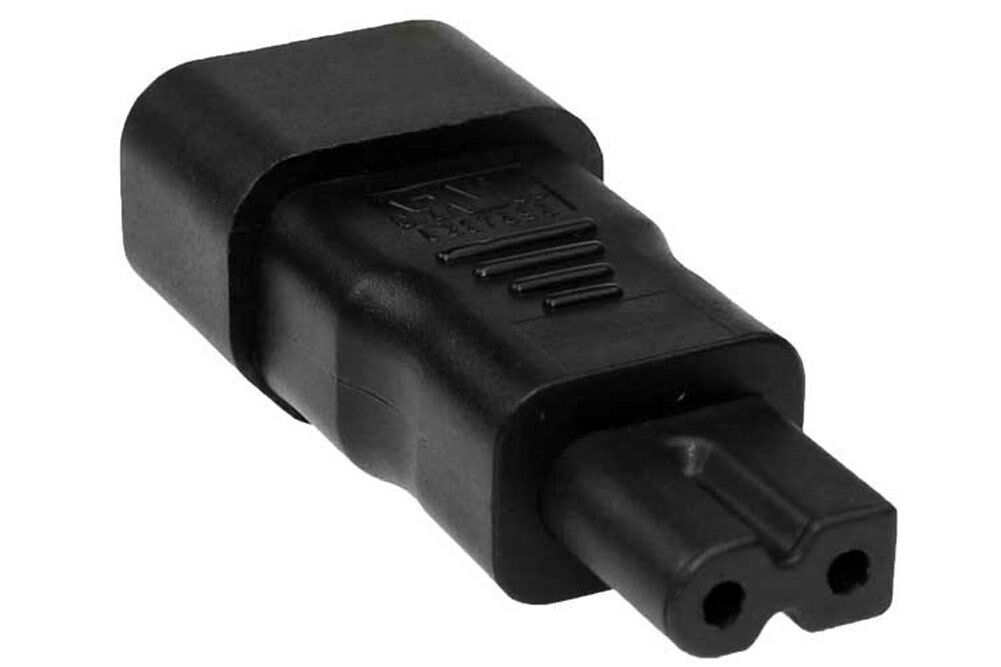 POLARIZED C7 TO C14 Plug Adapter - $4.25 | PicClick