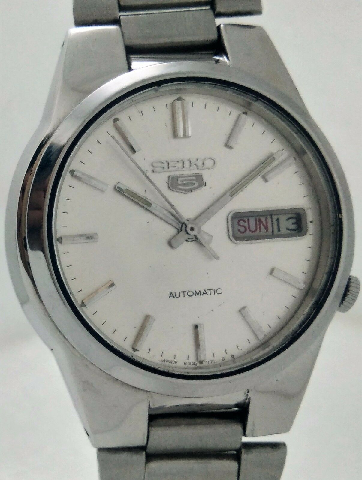 Vintage seiko 5 automatic movement japan made men 39 s watch cad picclick ca for Auto movement watches