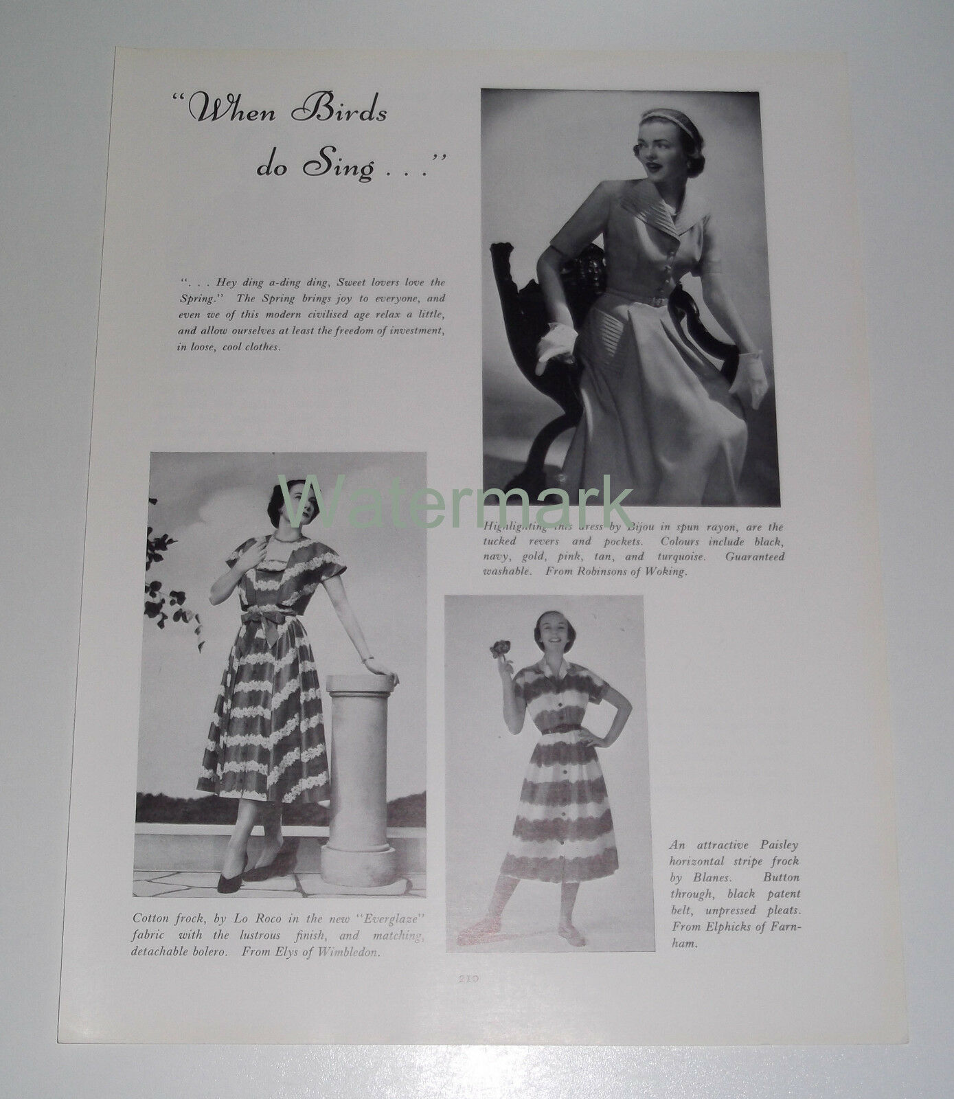 fifties time fashion vintage 1951 article 163 8 00