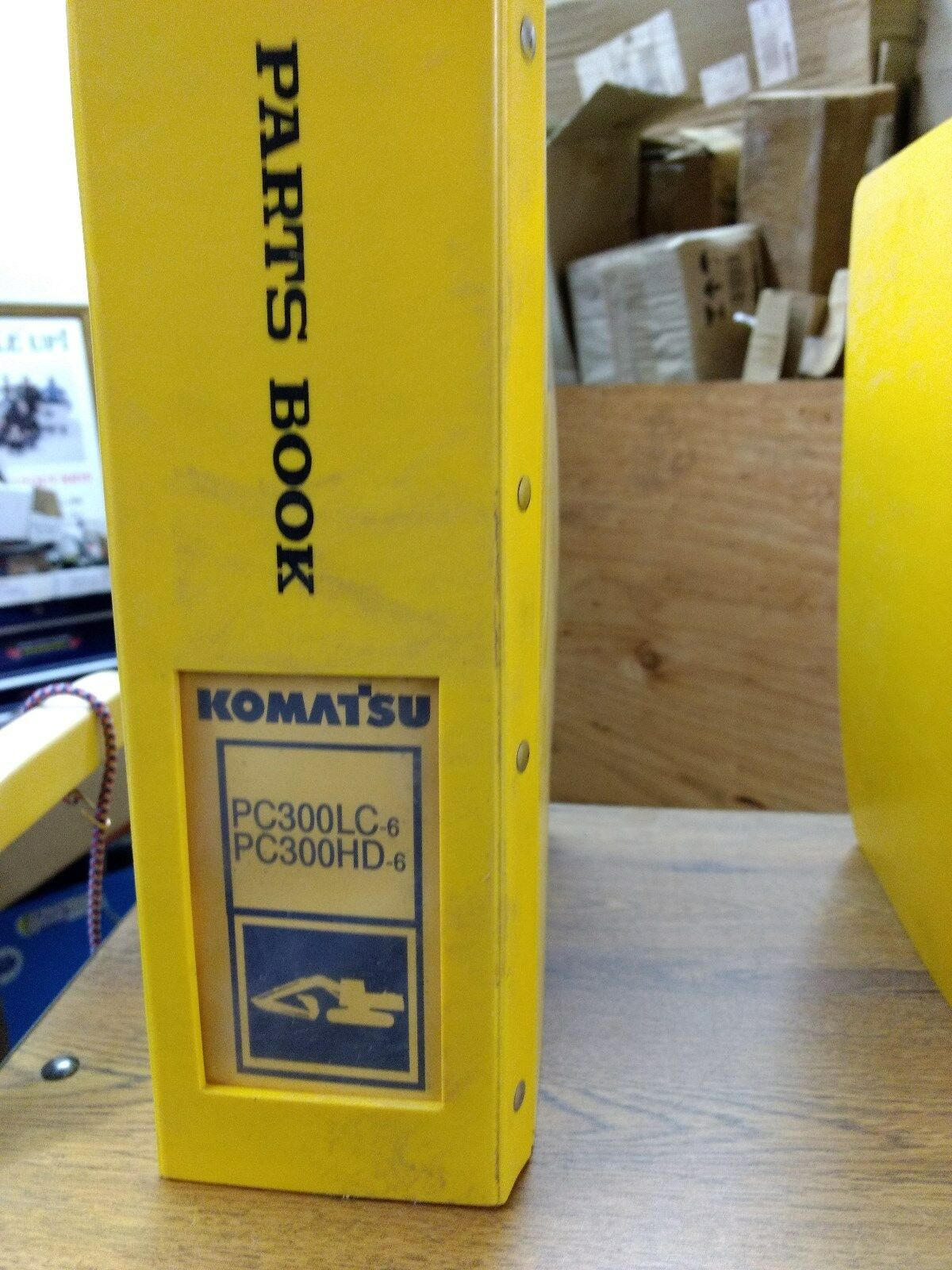 Komatsu PC300LC PC300HD-6L OPERATION MAINTENANCE PARTS MANUAL CUMMINS MANUAL  1 of 1Only 1 available See More
