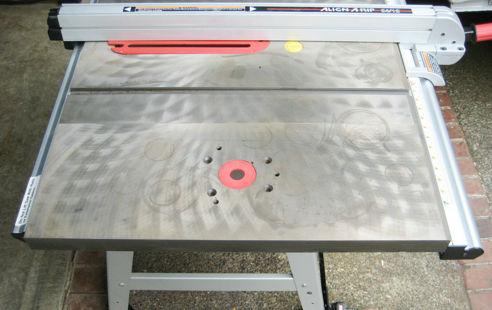 Cast iron 10 x 27 router table extension wing for table saw sears 1 of 12 see more greentooth Images