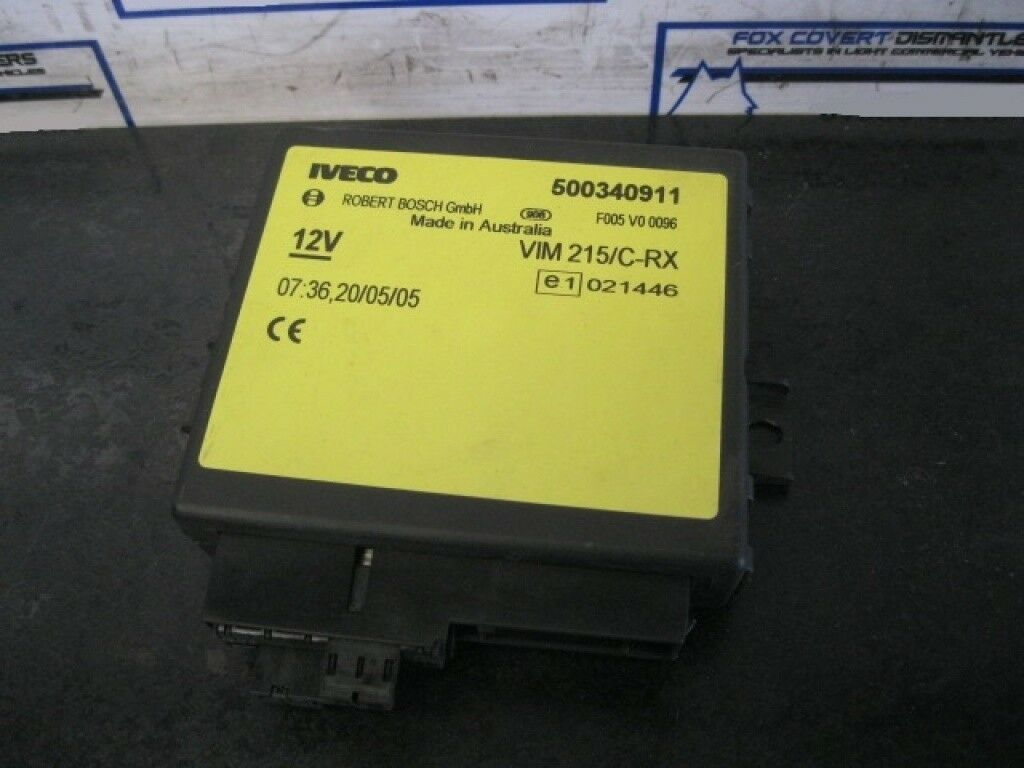 Iveco Daily 2.3 2000-2006 Central Locking Ecu 500340911 1 of 2Only 1  available ...