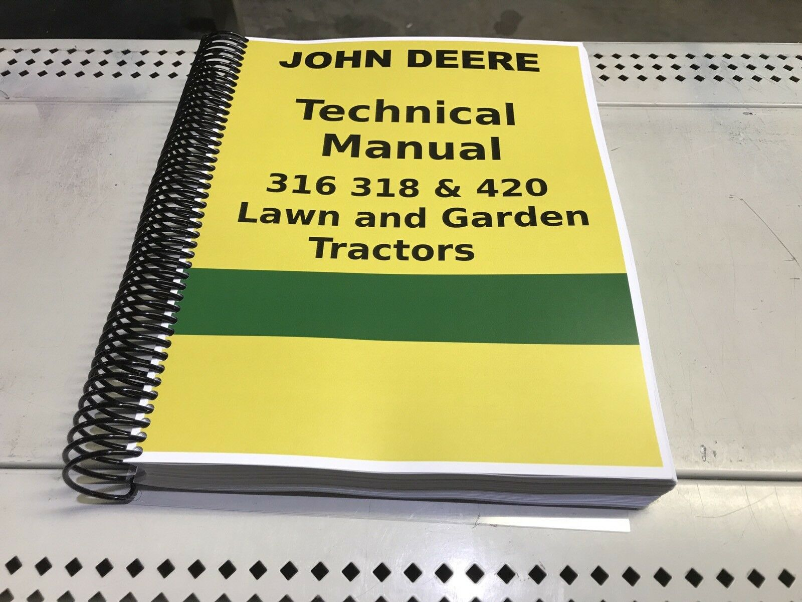 318 John Deere Lawn and Garden Tractor Technical Service Shop Repair Manual  1 of 5Only 3 available ...
