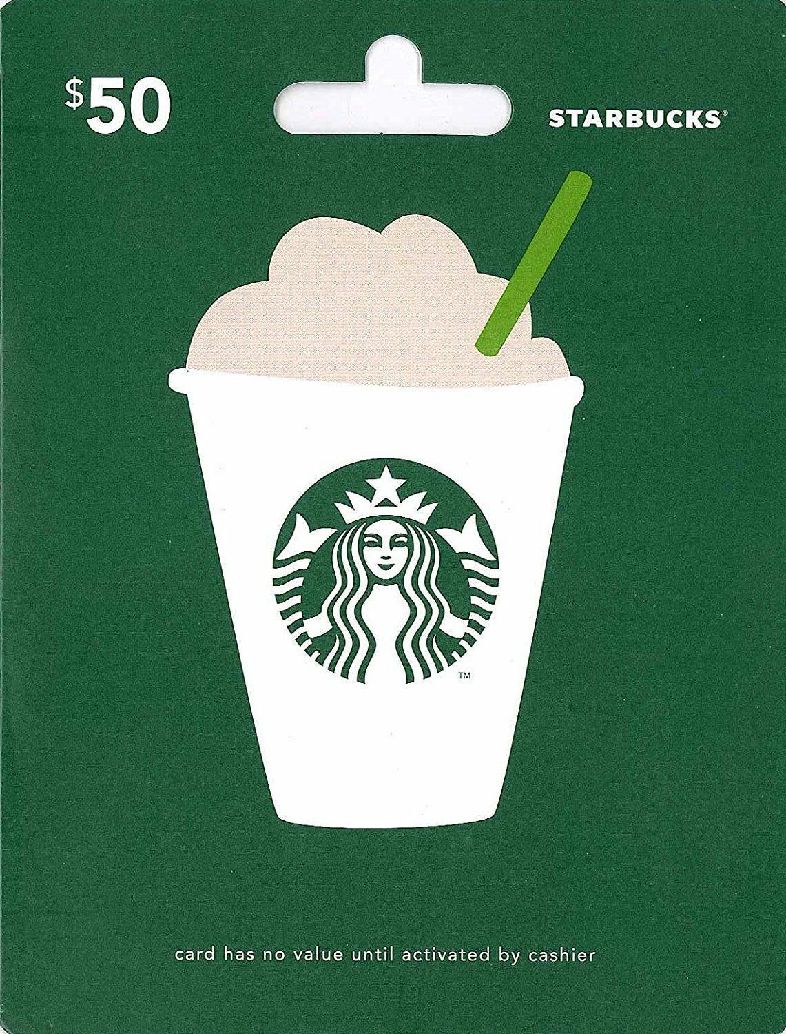 50 Starbucks Gift Card Usa Regular Mail Only 4100 Picclick Playstation Network Psn Singapore Credit Sgd 1 Of See More