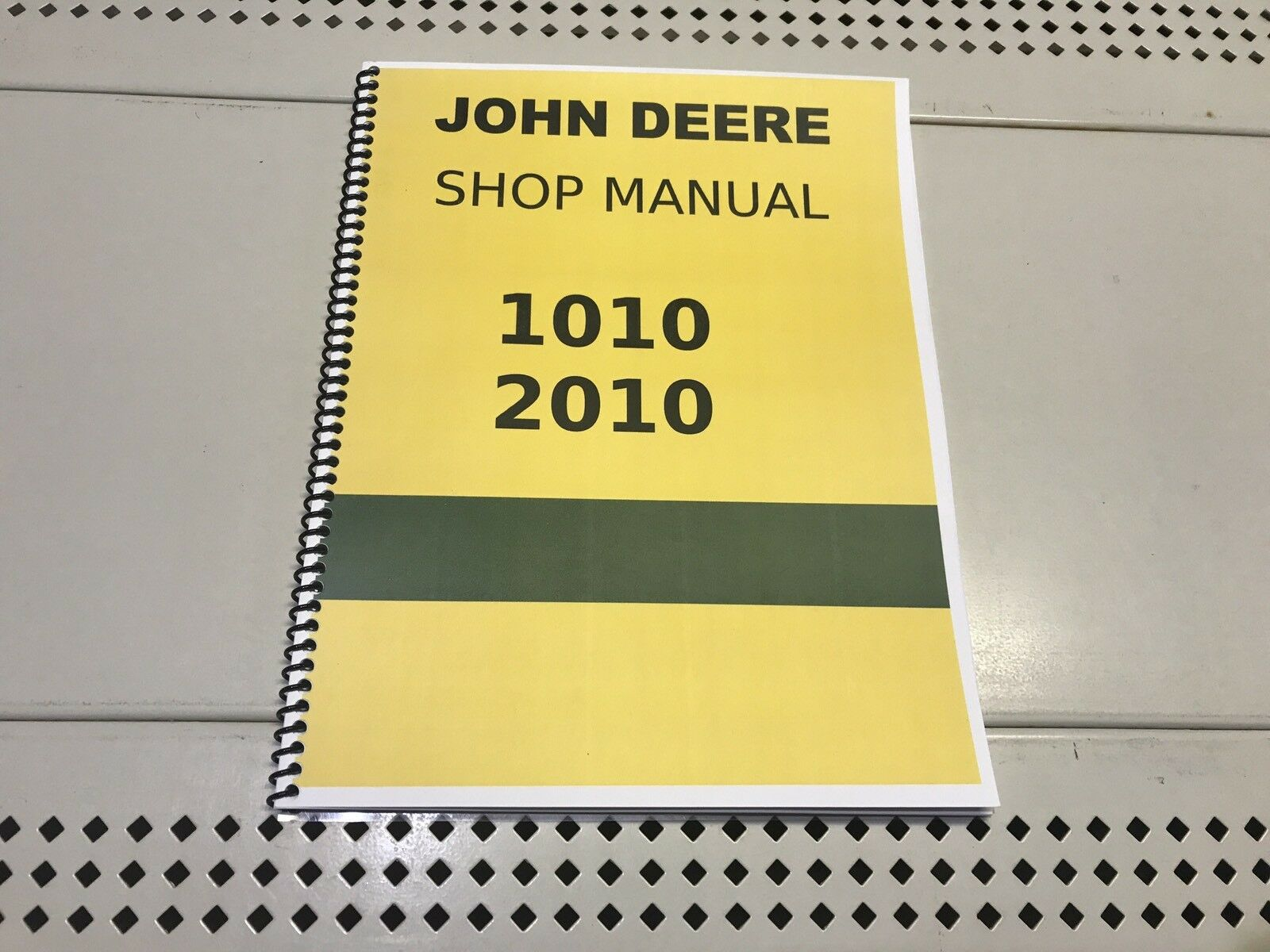 1010 John Deere Technical Service Shop Repair Manual 1 of 4Only 3 available  ...