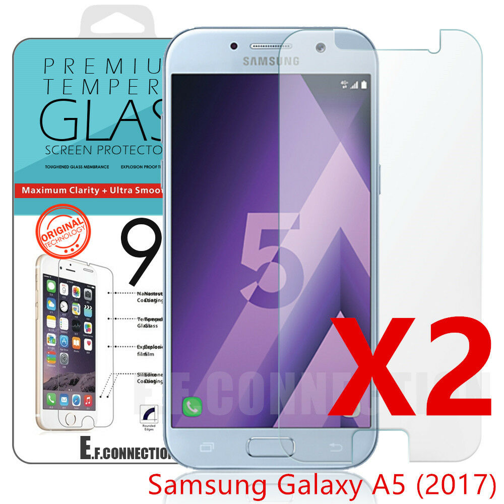lot2 samsung galaxy a5 2017 vitre protection verre tremp film protecteur cran eur 2 29. Black Bedroom Furniture Sets. Home Design Ideas