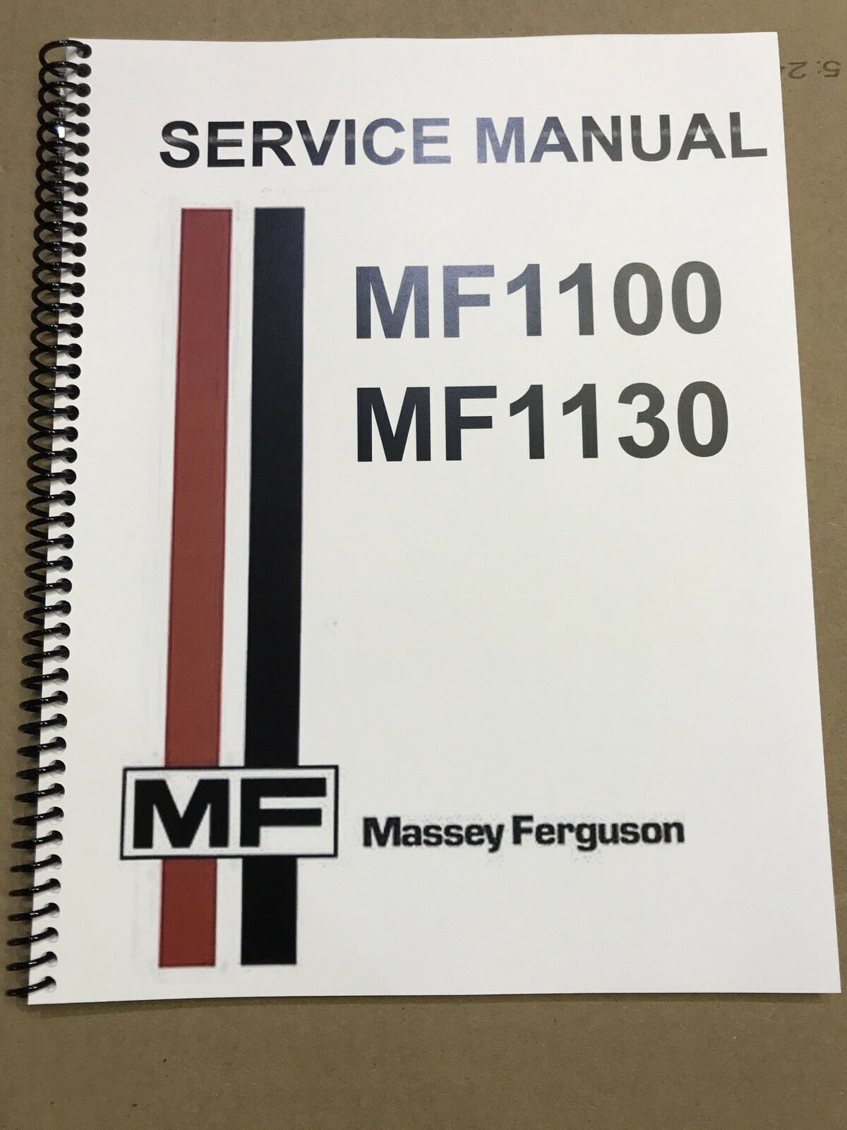 1100 Massey Ferguson Tractor Technical Service Shop Repair Manual MF1100 1  of 4Only 2 available ...