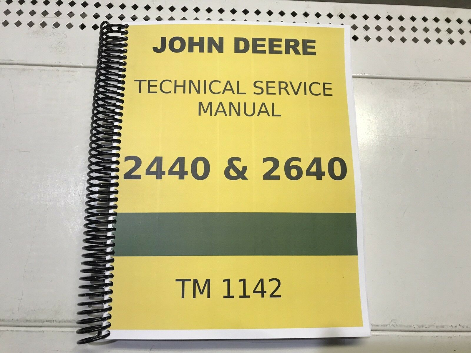 2640 John Deere Technical Service Shop Repair Manual 1 of 5Only 3 available  ...