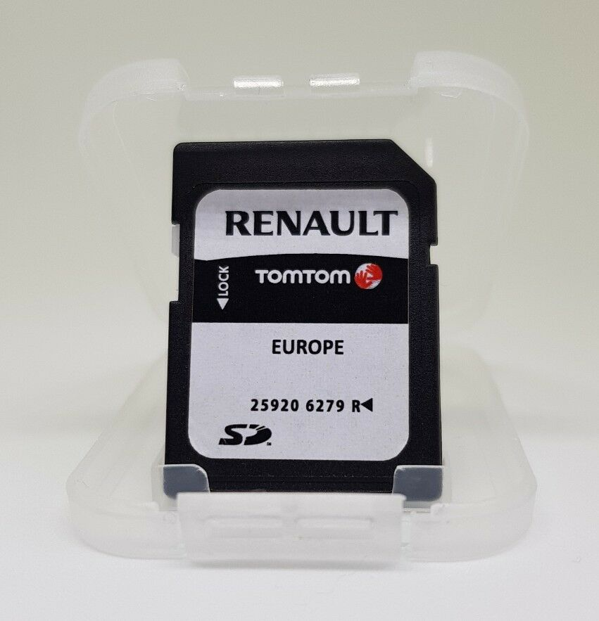 renault tomtom carminat megane sd card europe uk sat nav. Black Bedroom Furniture Sets. Home Design Ideas