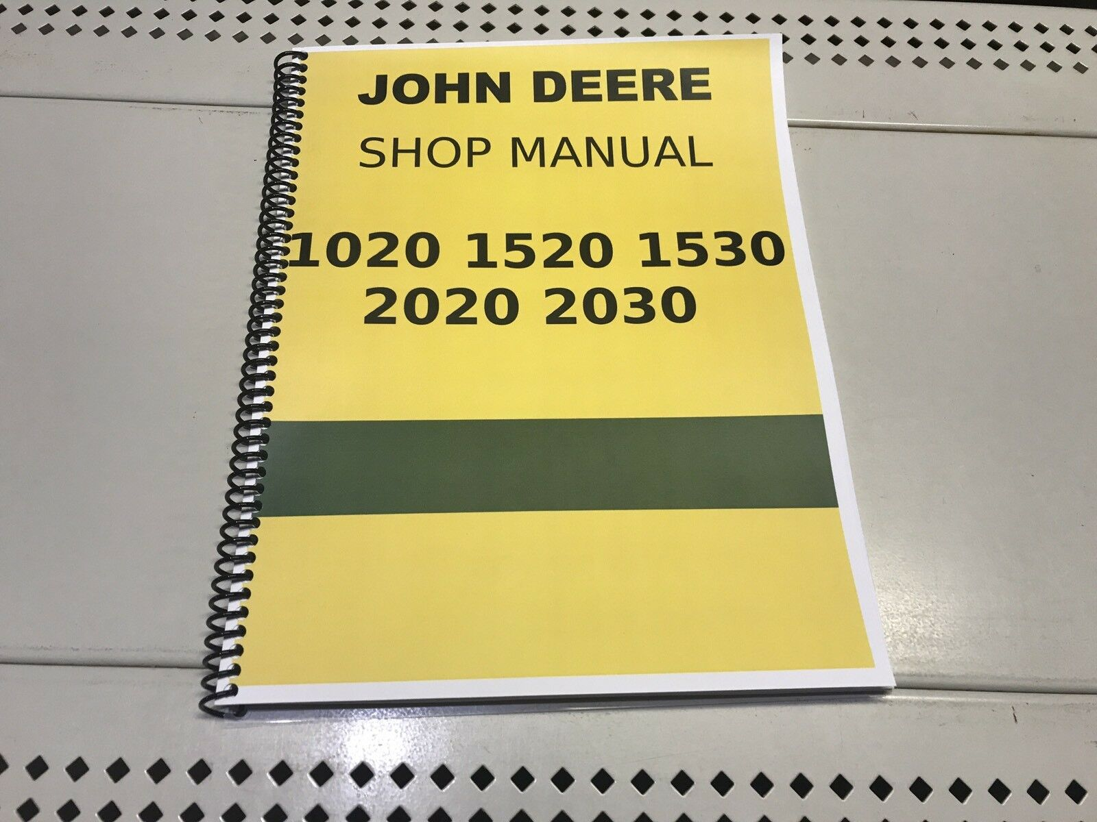 1020 John Deere Technical Service Shop Repair Manual 1 of 4Only 3 available  ...