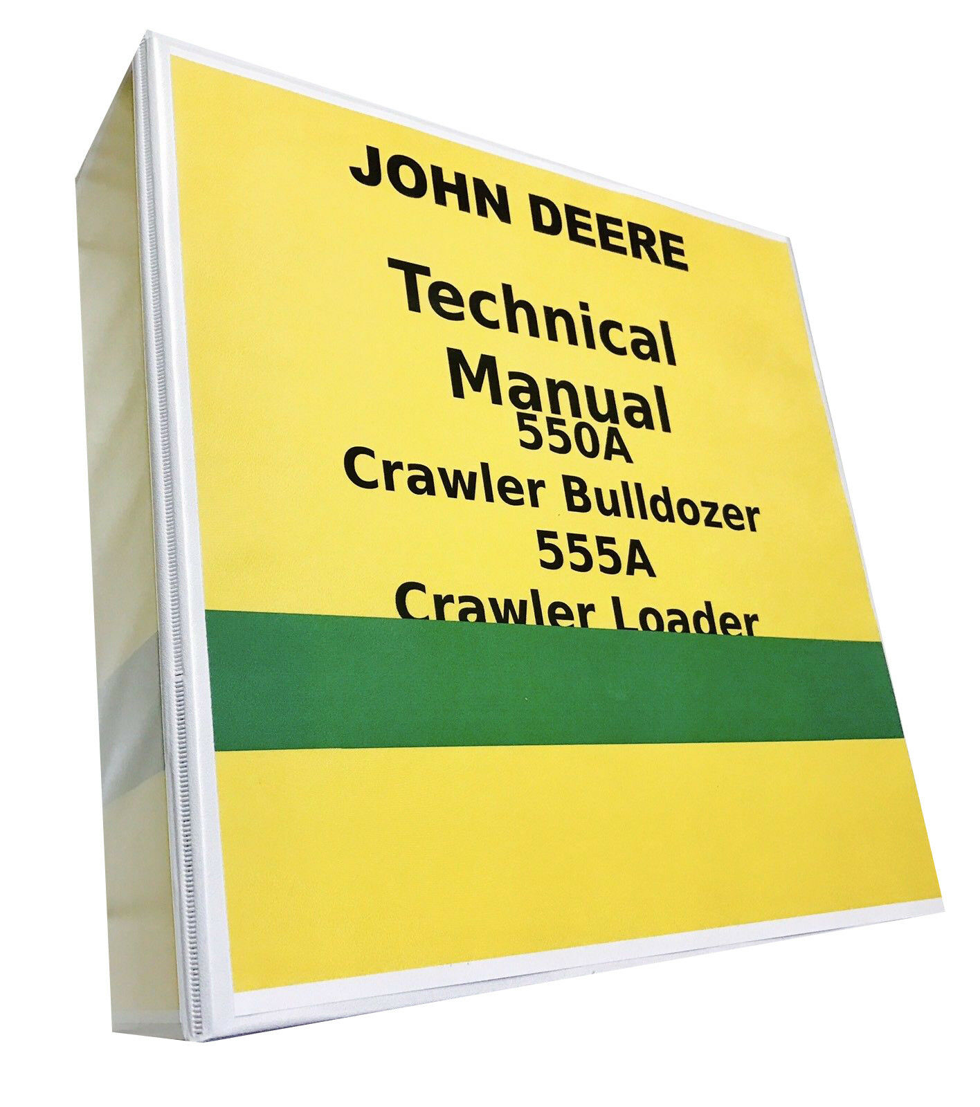 John Deere 555A Crawler Loader Technical Service Repair Shop Manual 896  pages! 1 of 5Only 3 available ...