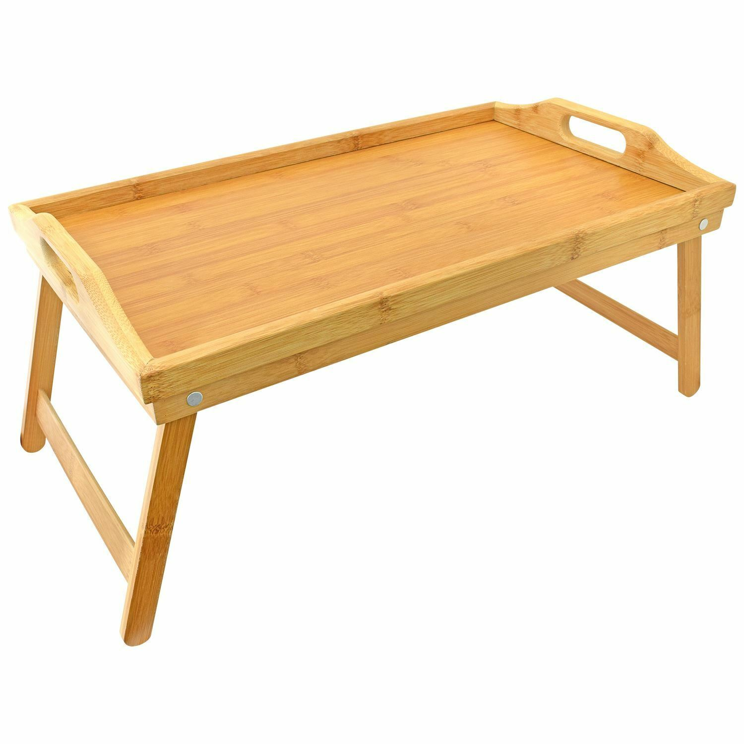 Folding Bed Tray Bamboo Wooden Breakfast Dinner In Bed  : Folding Bed Tray Bamboo Wooden Breakfast Dinner In from picclick.co.uk size 1500 x 1500 jpeg 114kB