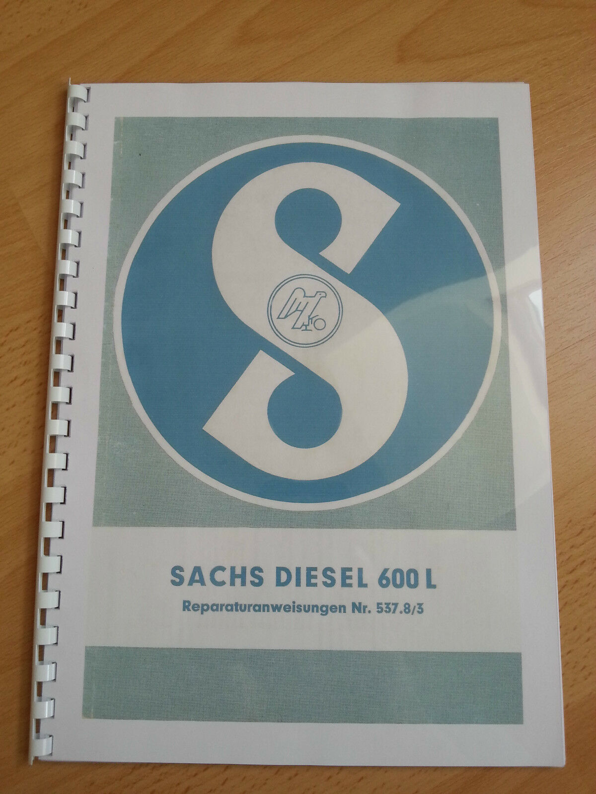 sachs diesel 600 reparaturanweisung motor von holder a12. Black Bedroom Furniture Sets. Home Design Ideas