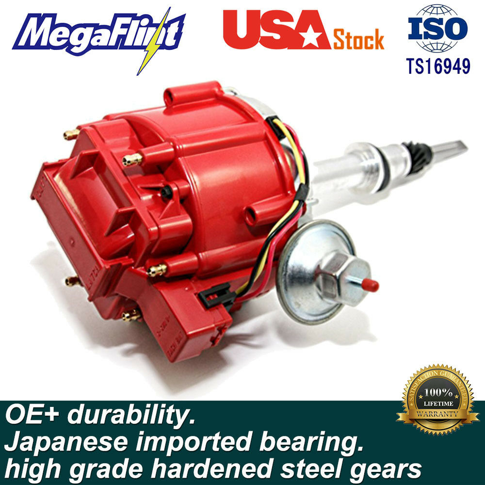 Sbc Bbc Small Block Chevy Hei Distributor Extreme 65k Coil 350 383 Ignition Module 454 9000 Rpm