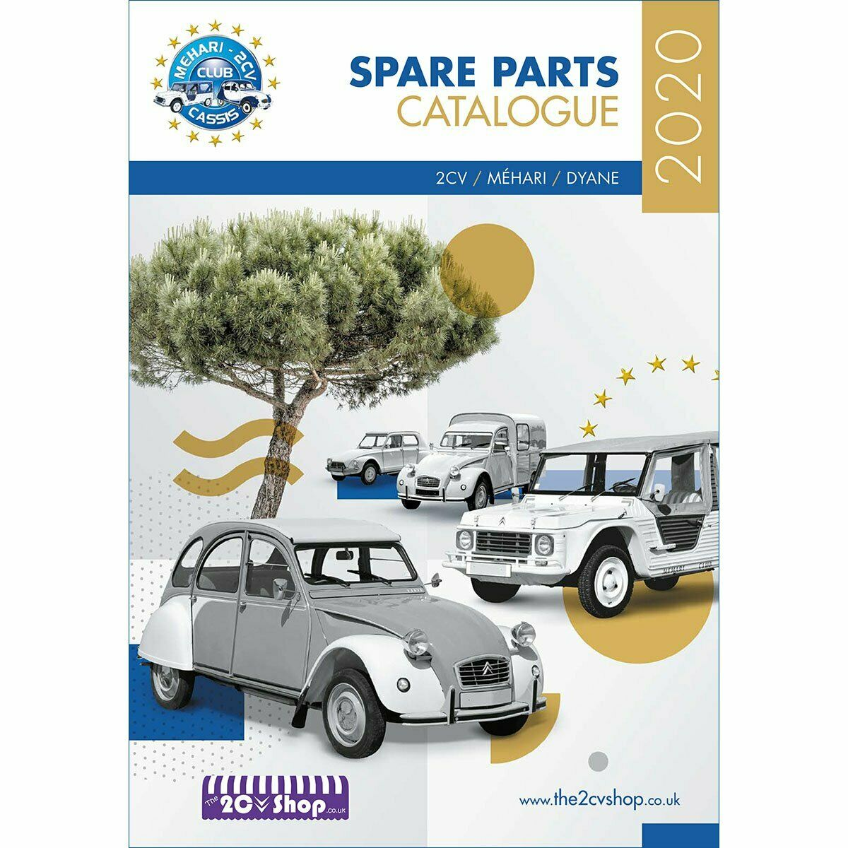citroen 2cv mehari dyane spare parts catalogue 2017 issue picclick uk. Black Bedroom Furniture Sets. Home Design Ideas