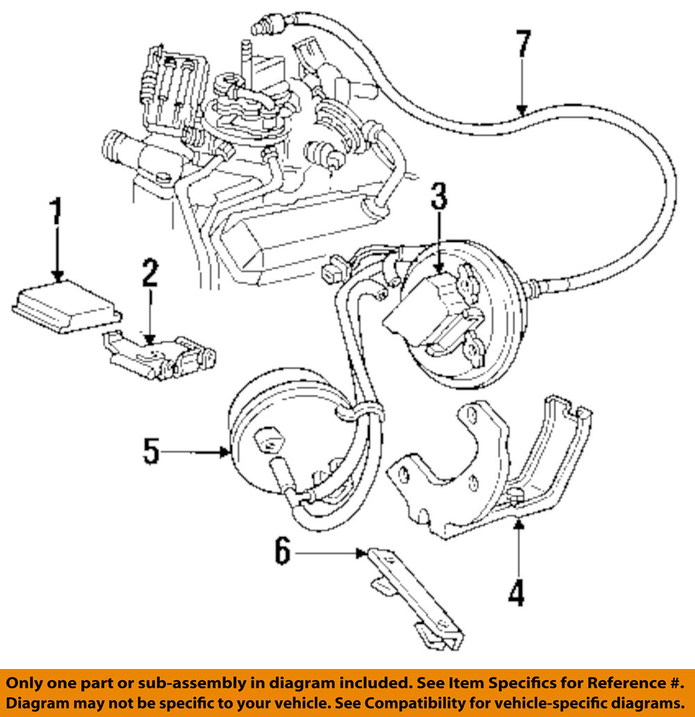 Gmc Gm Oem 92 93 Typhoon Cruise Control Module 25110884 37095 94 Integra Wiring Diagram 1 Of 1only 2 Available