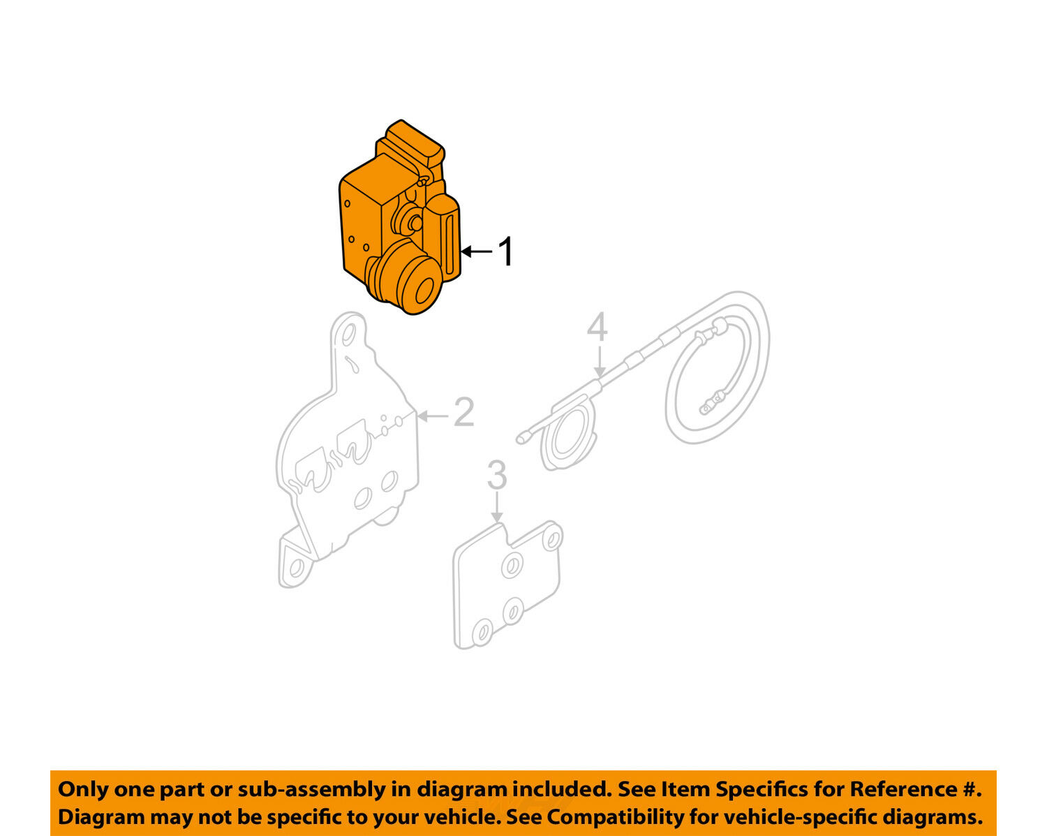 Ford Oem 05 07 Focus Cruise Control Servo 4s4z9c735aa 40771 Renault Diagram 1 Of 2only 5 Available See More