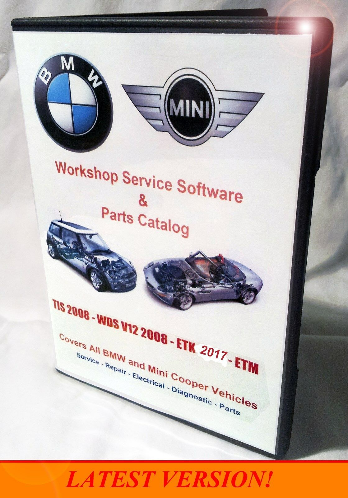 Bmw Etk Epc Dealer Parts Catalog Diagrams Tis Wds Repair 1989 M3 Electrical Troubleshooting Manual 1 Of 11free Shipping