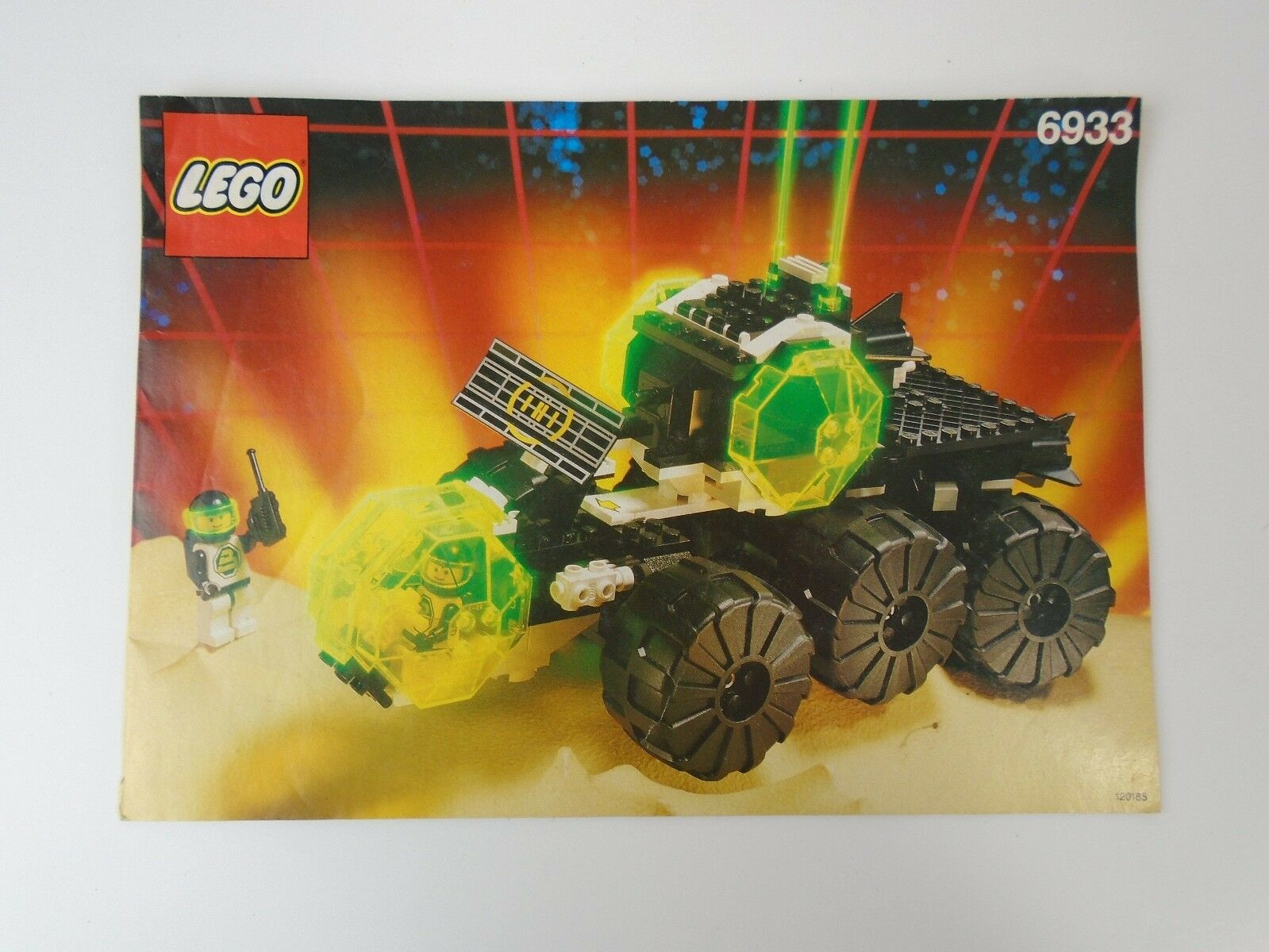 Lego Space Classic 6933 Blacktron Spectral Starguider Instructions