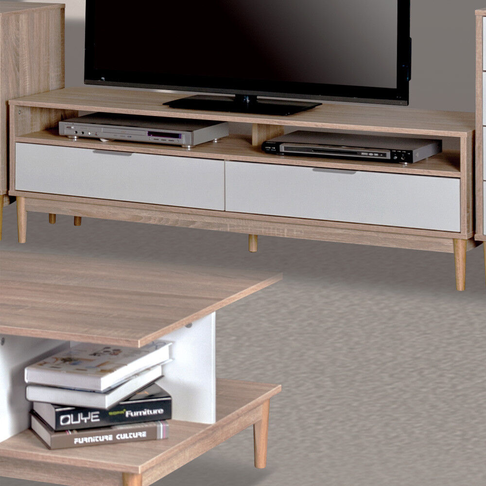 style home tv tisch fernsehtisch fernsehschrank lowboard. Black Bedroom Furniture Sets. Home Design Ideas