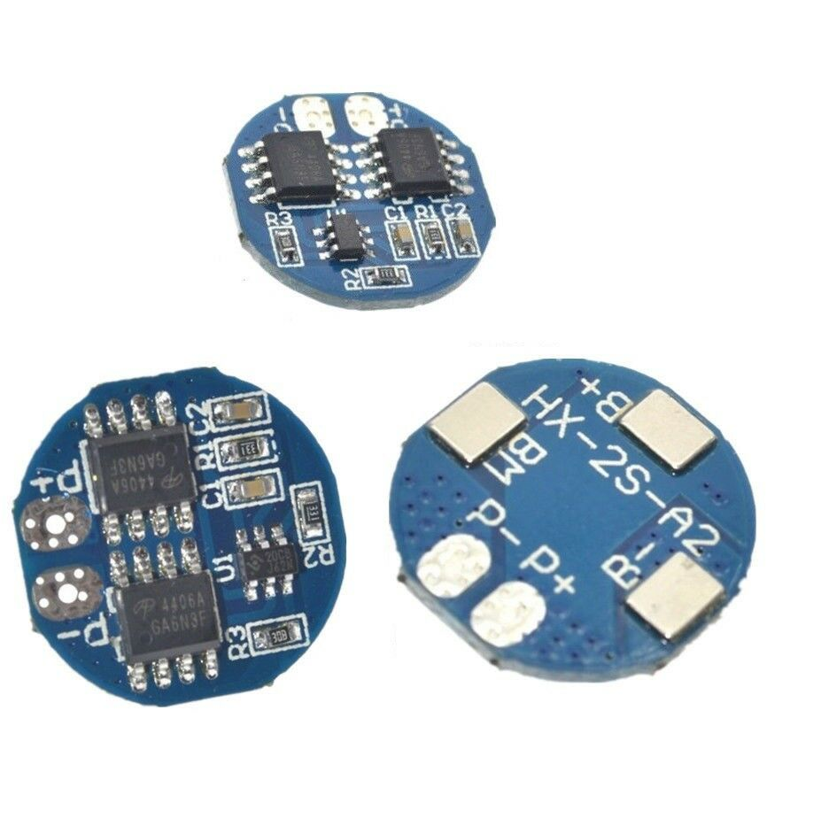 1 2 5pcs 2s 5a Li Ion Lithium Battery 74v 84v 18650 Charger Protection Circuit Module Pcb For 37v Of Liion 20a Limit 5 See More
