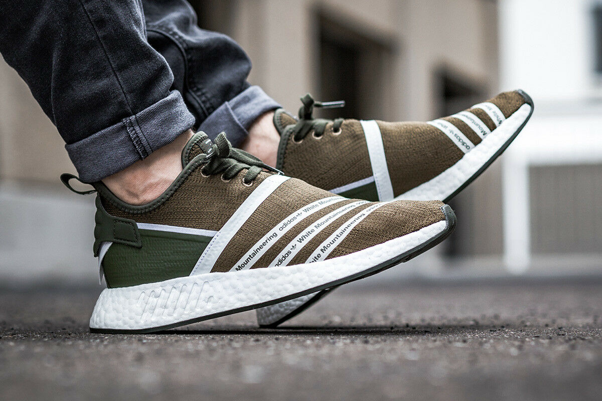 5cf2ee452 Adidas WM NMD R2 PK size 6.5 Olive. White Mountaineering. CG3649. ultra  boost 1 of 6Only 1 available ...