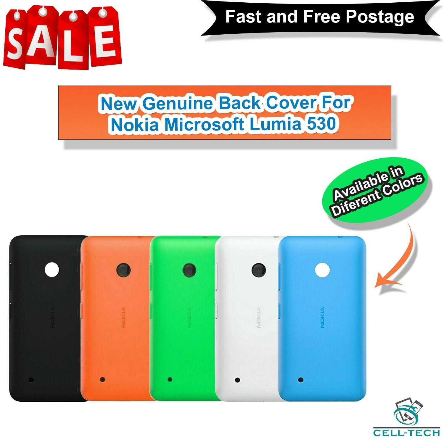 New Nokia Lumia 530 4gb Windows 3g Wifi Gps 5mp 4 Unlocked Whatsapp Lg L20 White 1 Of 5free Shipping