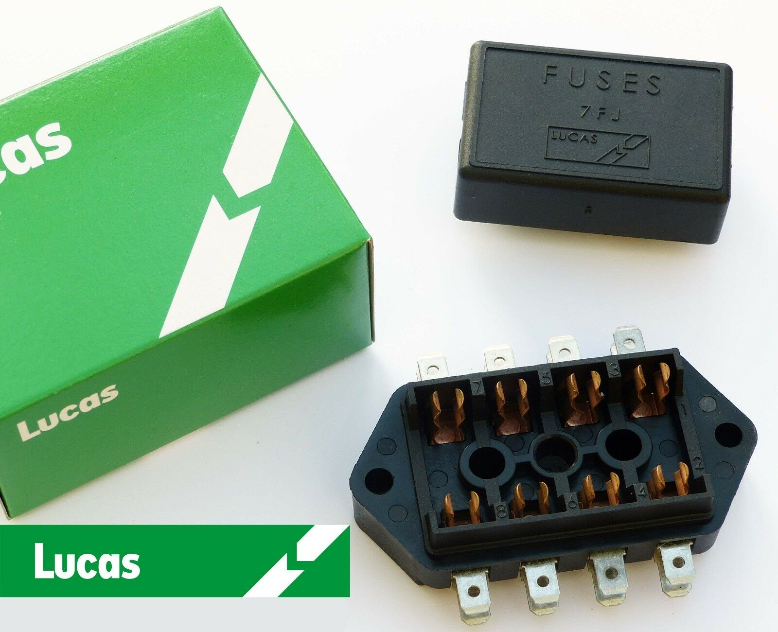 Lucas 7fj 4 Way Fuse Box Cover 37420 Rtc440a For Triumph Boxes From The 1950 1 Of See More
