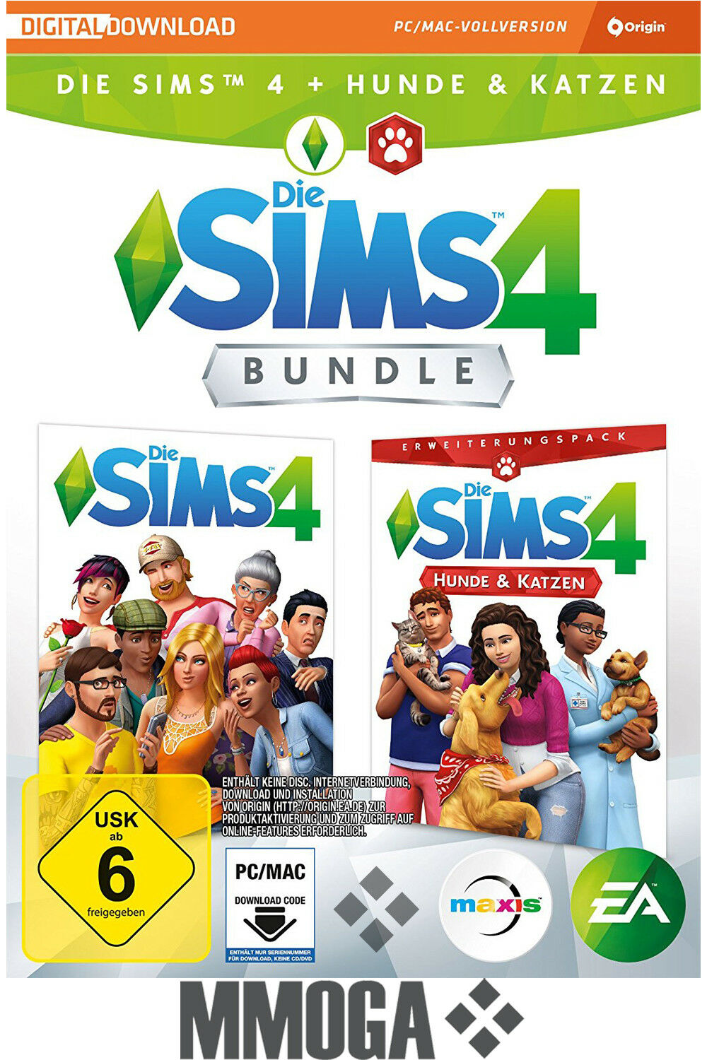 Sims  With Cats And Dogs Bundle