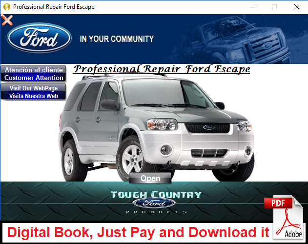 factory service repair manual for ford escape and mercury mariner rh picclick com 2009 Mercury Mariner Gas Mileage 2009 Mercury Mariner Review