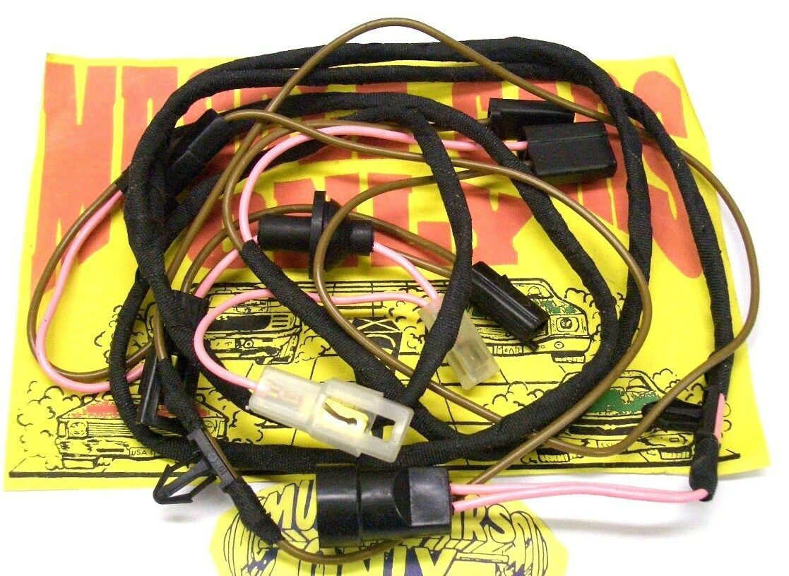 1 of 3FREE Shipping 70 71 72 El Camino SS454 Cowl Induction Hood System  Under Hood Wiring Harness