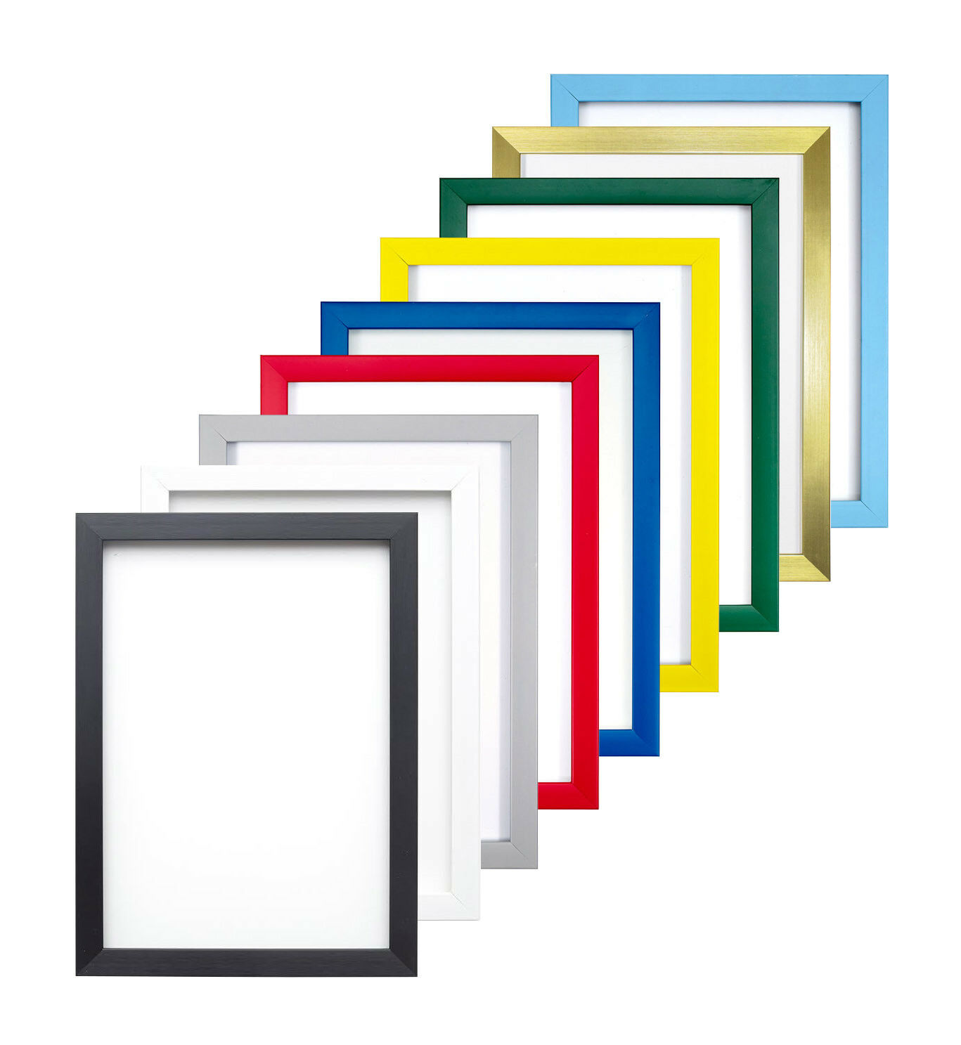 Black Frame with White Mount Photo Frame   Picture Frame   Poster ...