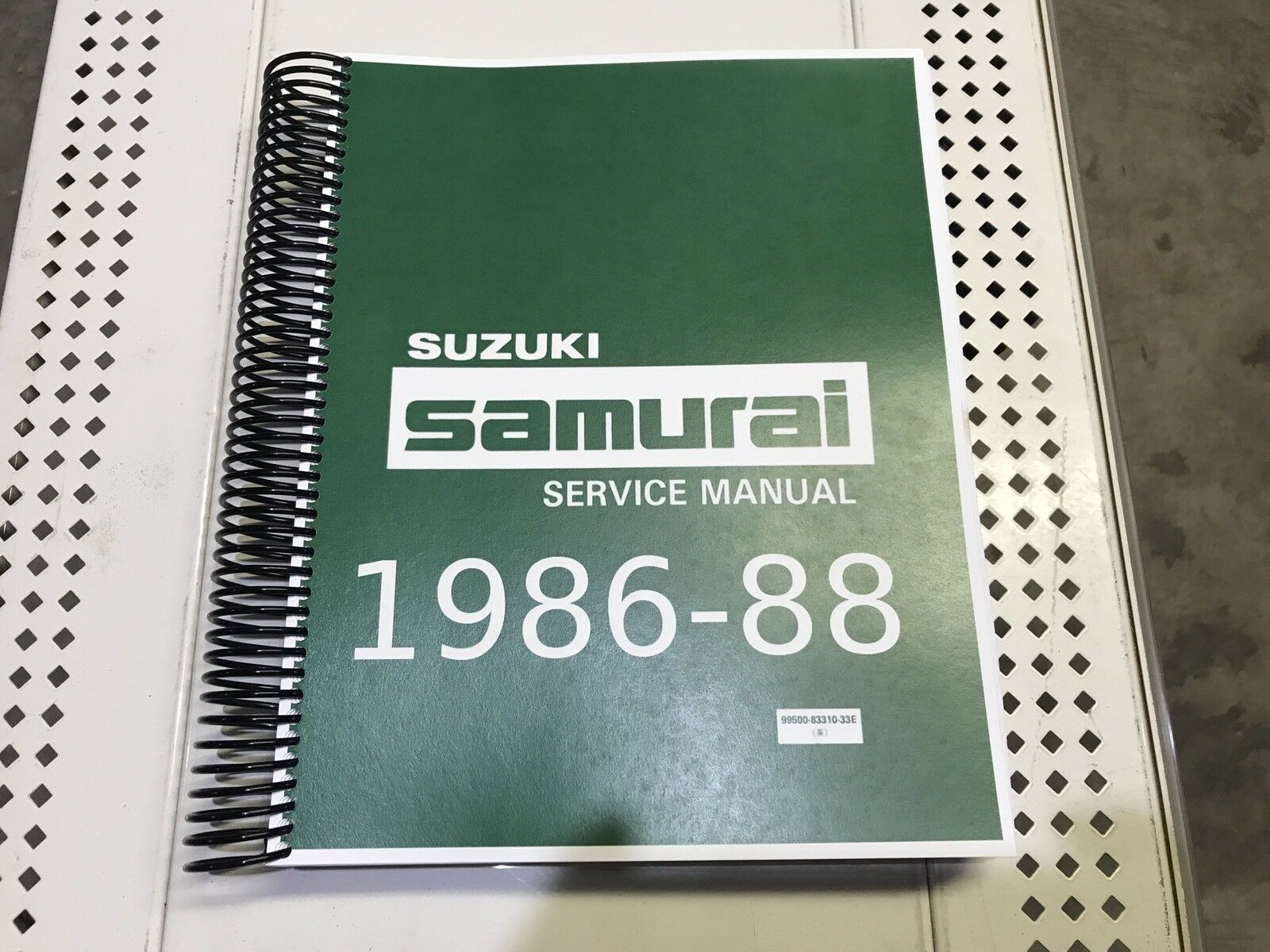 Suzuki Samurai Factory Service Repair Shop Manual 1986 1987 & 1988 NEW 86  87 88 1 of 7Only 3 available ...