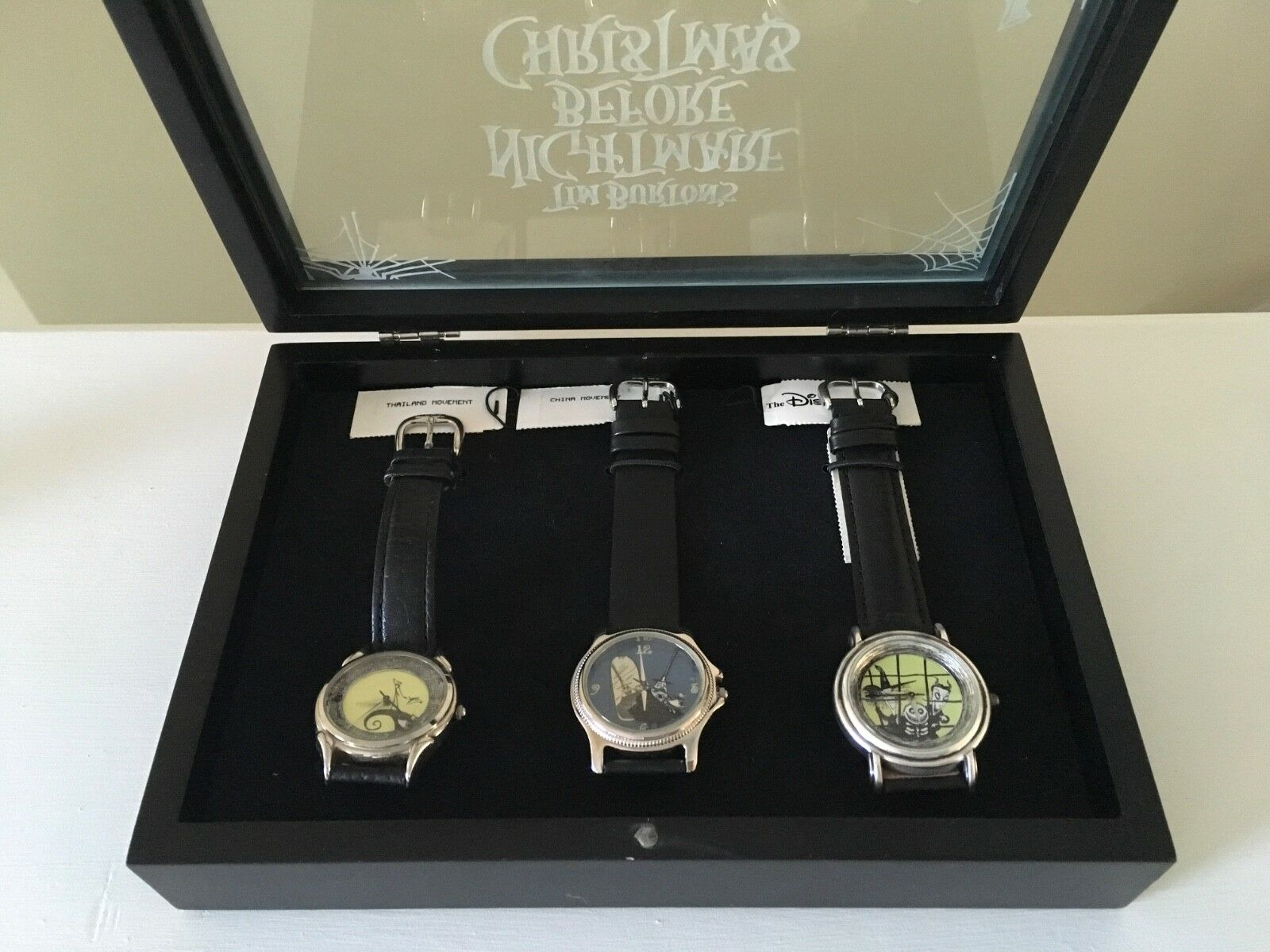NIGHTMARE BEFORE CHRISTMAS Limited Edition Fossil Watches - $325.00 ...