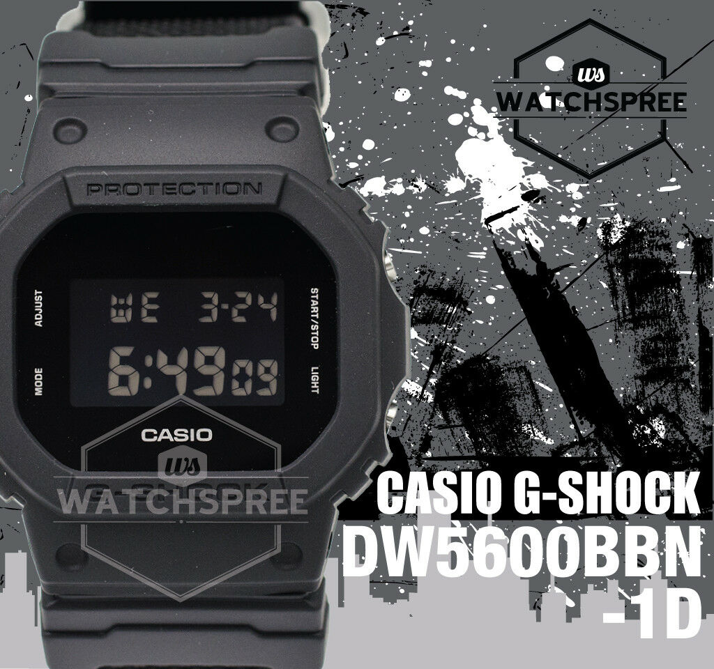 Casio G-Shock Special Color Models Men's Watch DW5600BBN-1D 1 of 6FREE Shipping ...