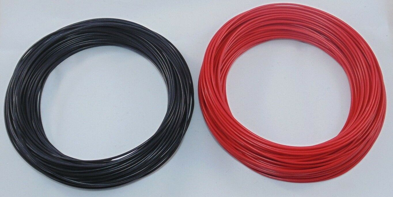 60m Dropper Wire 3a 16 02 30m Of Red And Black Dcc Layout Track Bus Wiring 1 See More