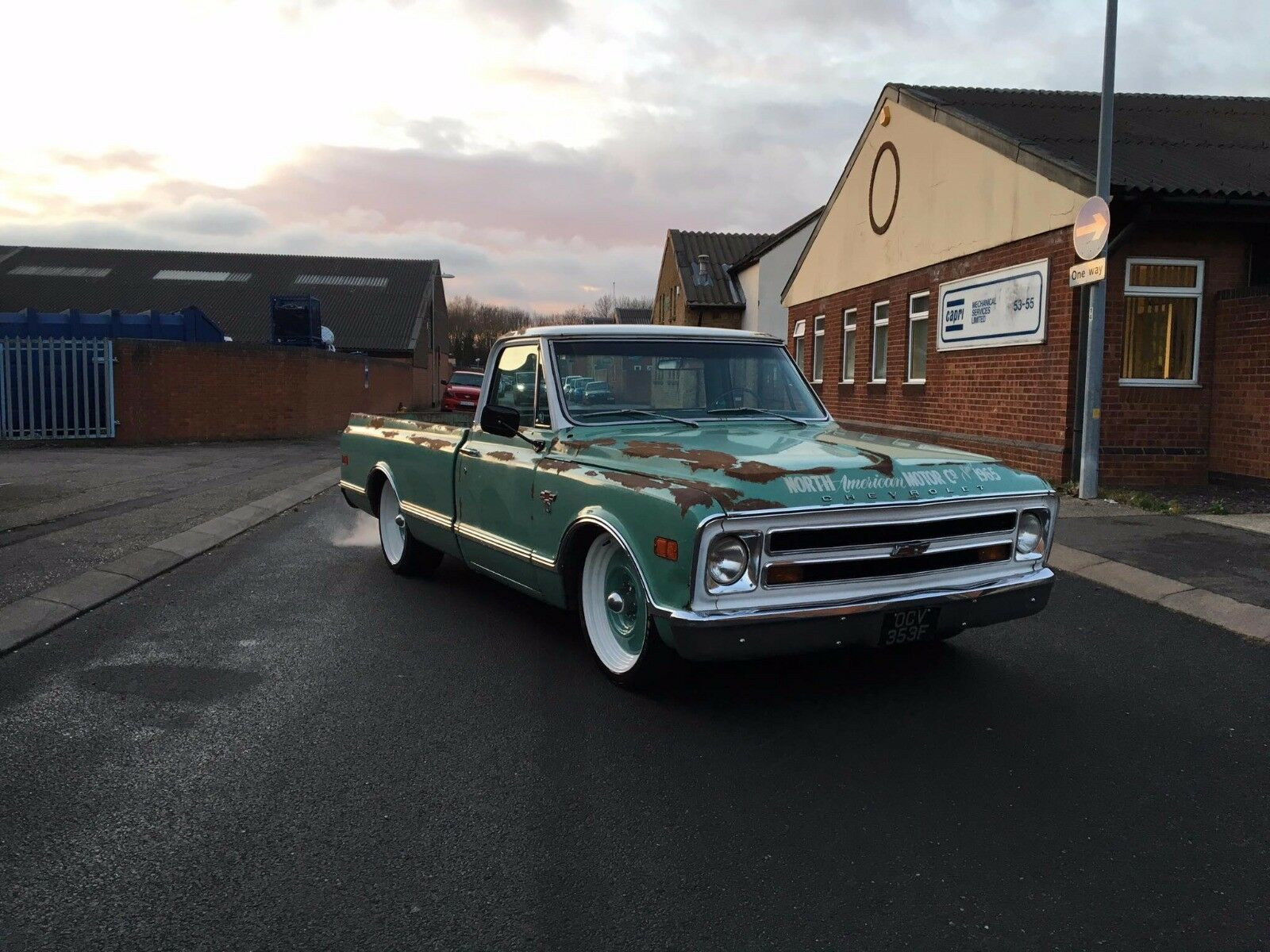 1968 Chevy C10 Truck Hotrod Patina Ratty 1325000 Picclick Uk Stepside 1 Of 9 See More