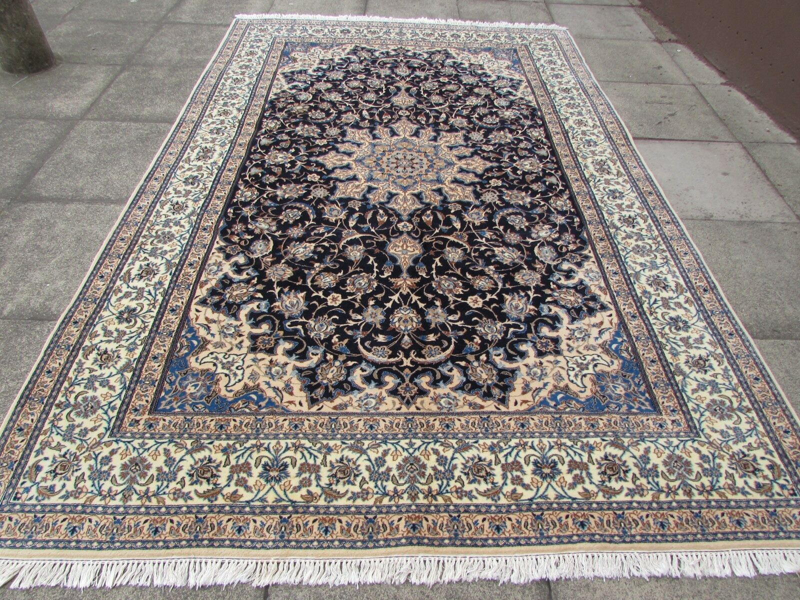 how to clean a persian rug by hand