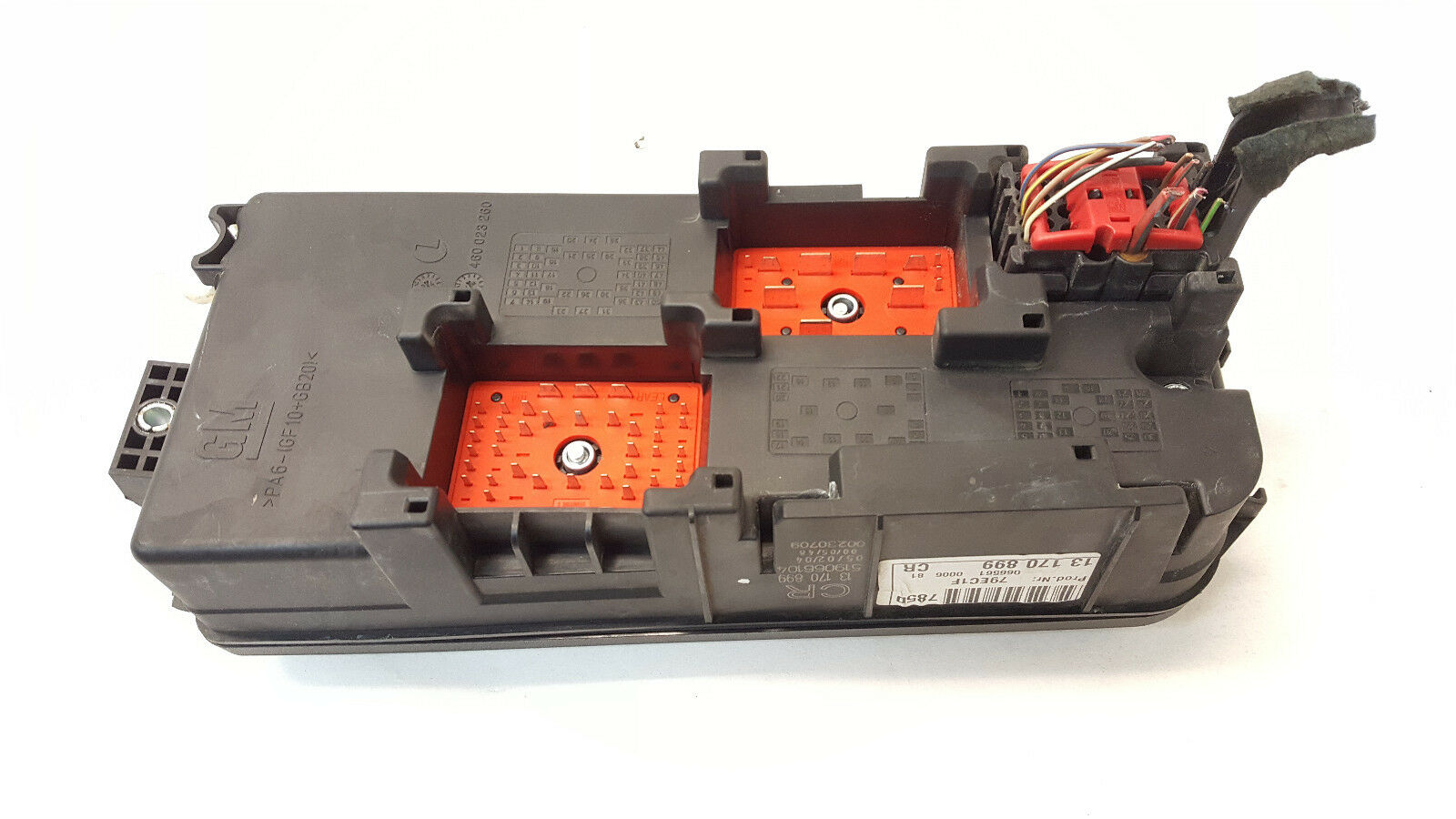 Opel Vectra C Fuse Box Relay Box Engine Control Unit 13170899 1 of 4 See  More