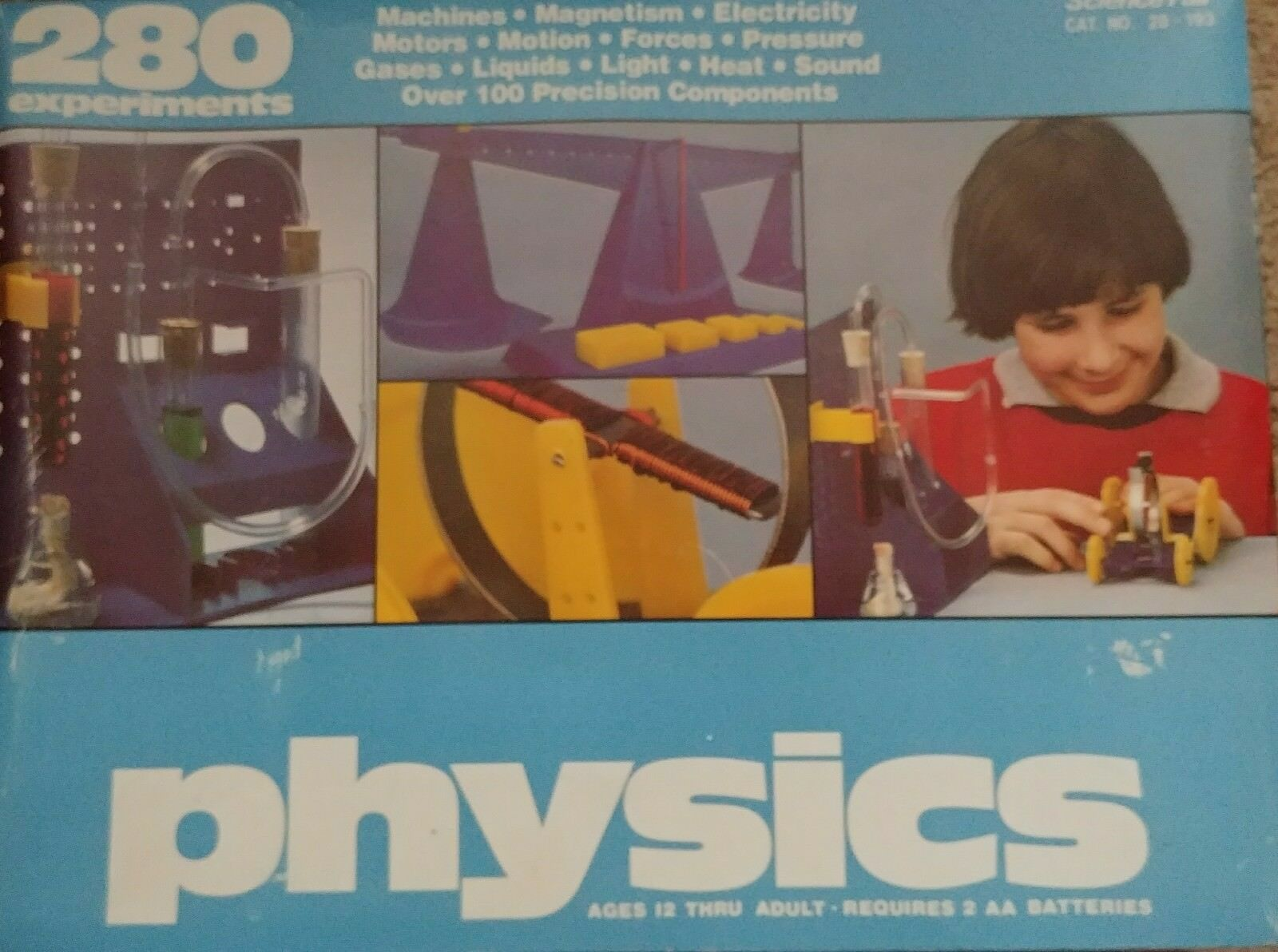 Vintage Radio Shack Science Fair Physics Kit Cat No 28 193 W 280 Two Ic Am With Training Course Model Am780k Electronic 1 Of 12only Available