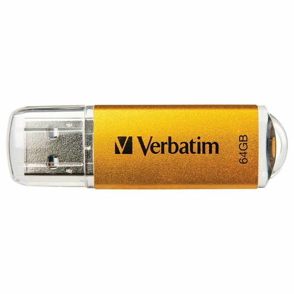 Verbatim Store N Go Usb 30 Flash Drive 64gb Gold 4500 Picclick Au Sandisk Flashdisk Cruzer Dial Cz57 32gb 1 Of 1only 3 Available