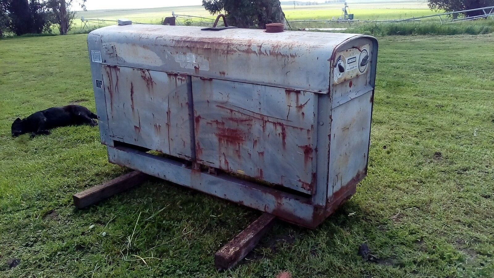 Lincoln Sae 400 Welder 200000 Picclick Sa 200 Gas Tank 1 Of 1only Available