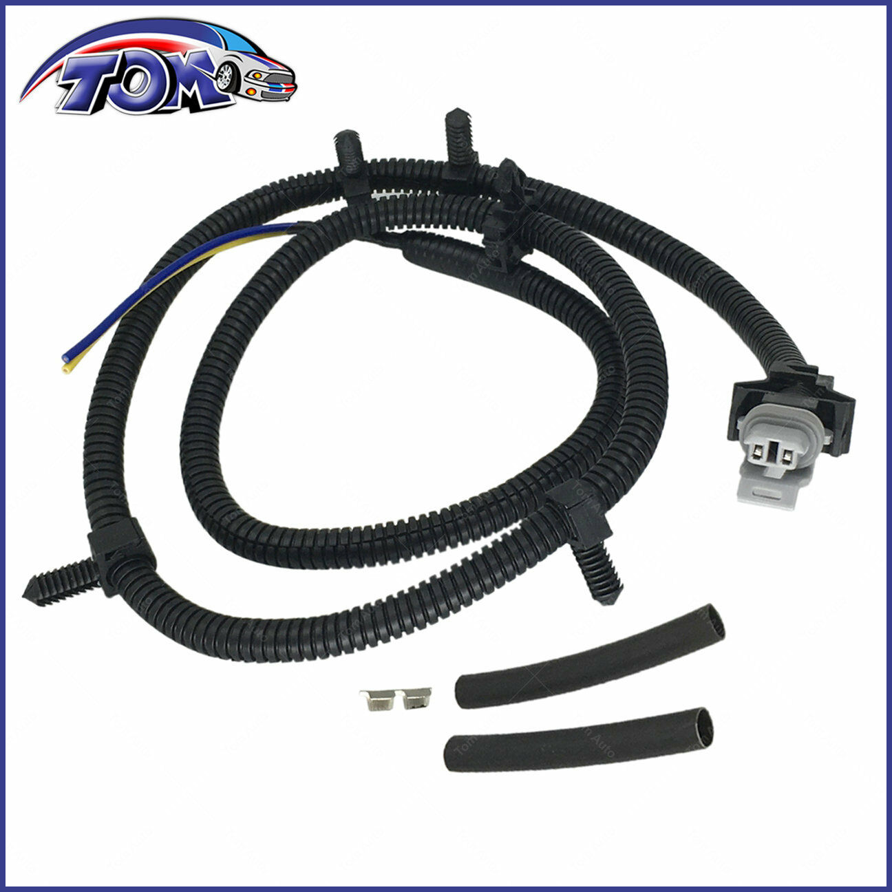 Abs Wheel Speed Sensor Wiring Harness Front Left Right For Impala Cadillac Srx Brake 1 Of 4free Shipping