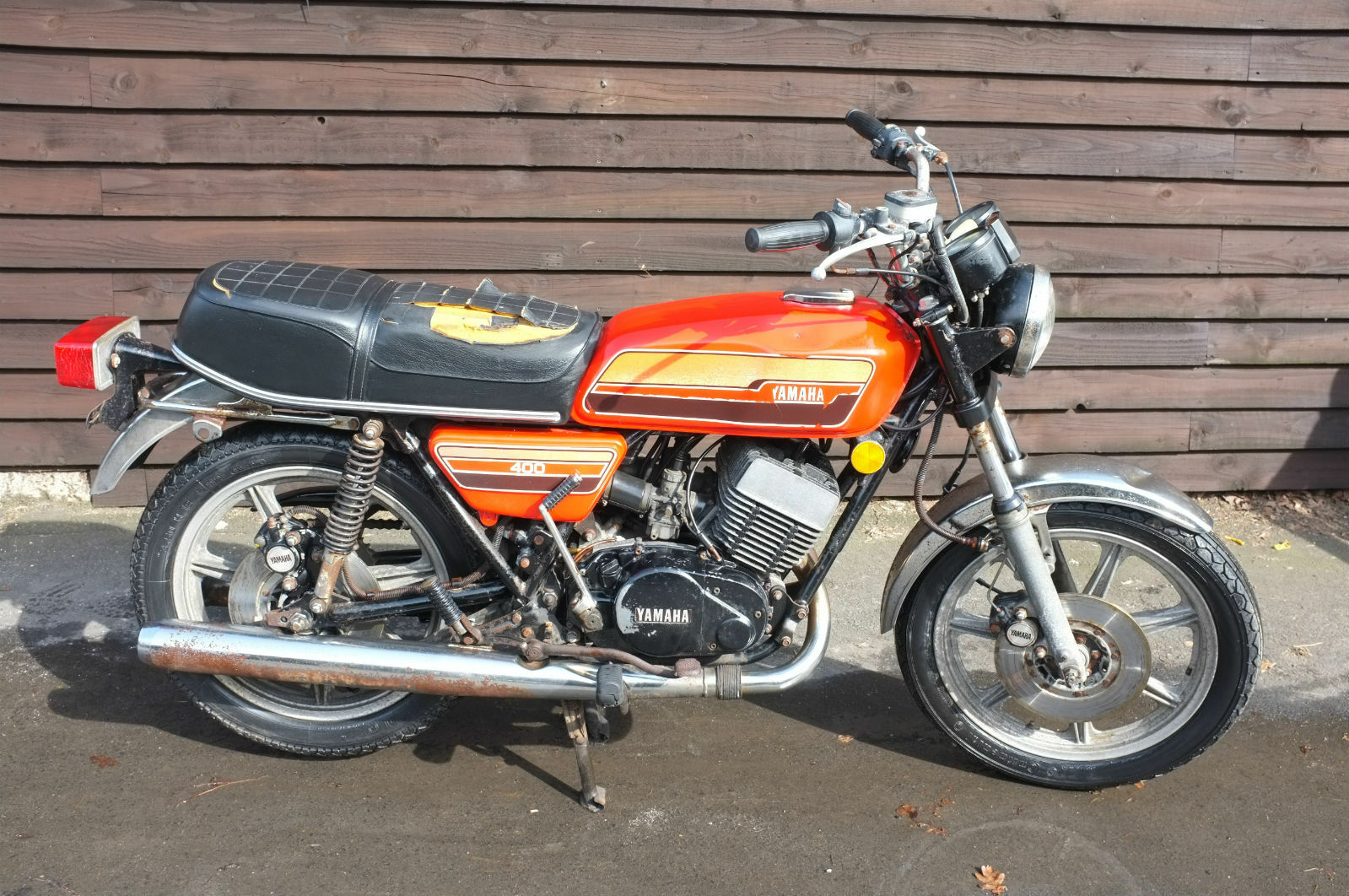 1 of 12Only 1 available Yamaha RD 400C RD400 C 1976 BARN FIND exceptional  condition for age ...