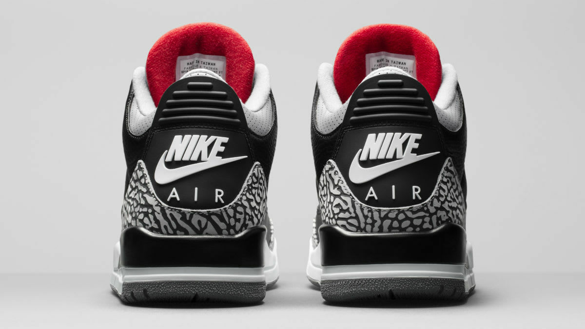 15b4bb53d38f 2018 Nike Air Jordan 3 III Retro OG Black Cement Size 7. 854262-001 1 of  4Only 2 available ...
