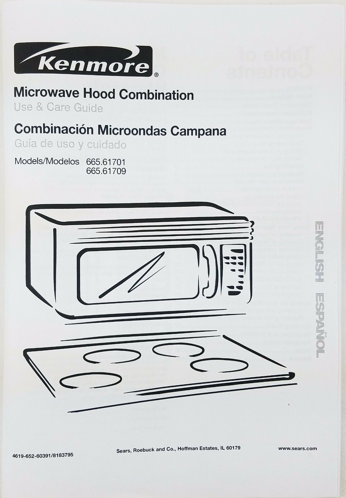 kenmore microwave oven owners manual 665 61701 665 61709 4 73 rh picclick co uk kenmore elite microwave service manual Kenmore Microwave Troubleshooting